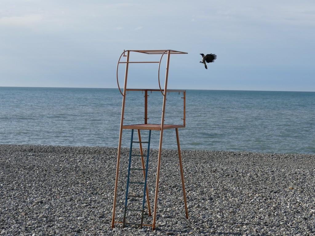 Beach in Batumi