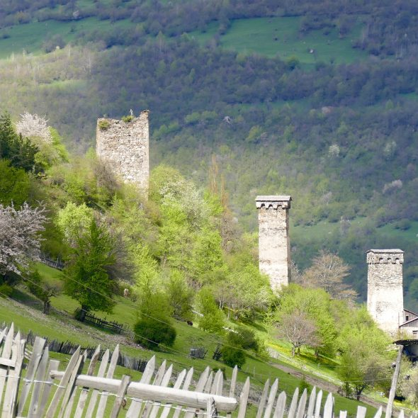 Mestia towers