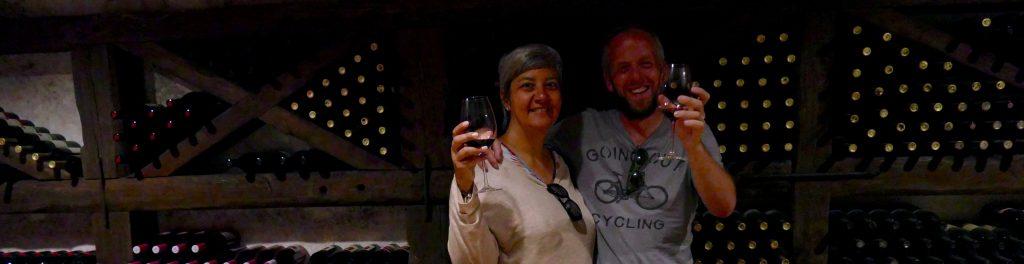 Wine tasting at Khareba
