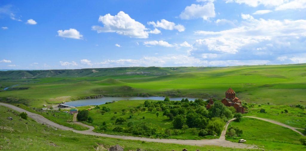 Marmashen monastery near Gyumri