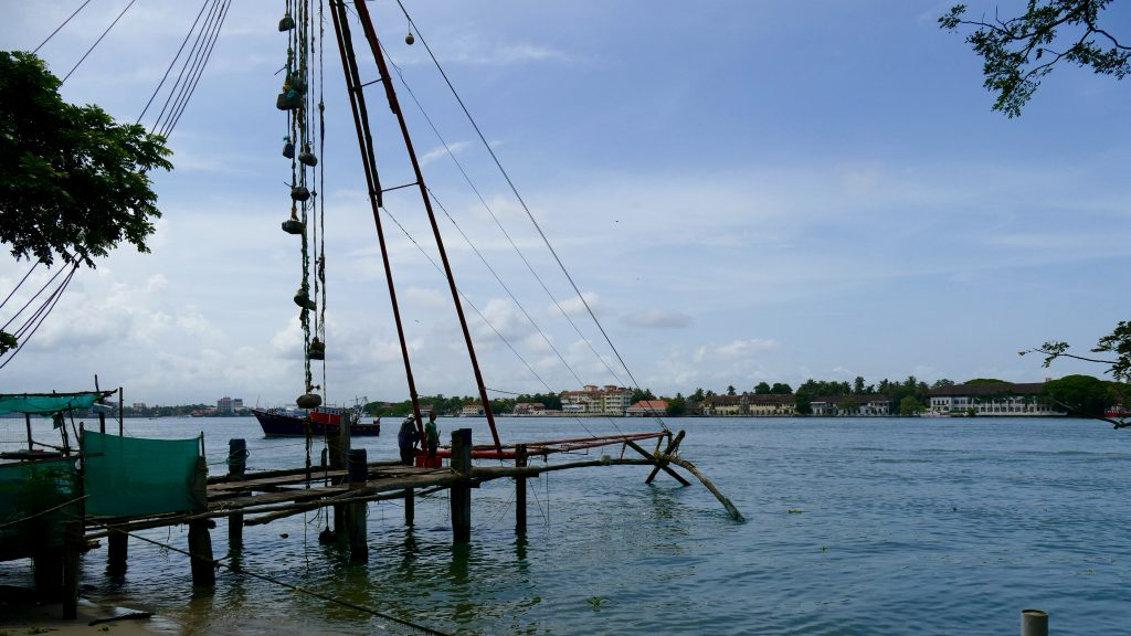 Fort Kochi Chinese fishnets