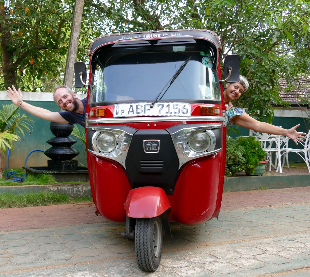 Notre nouveau compagnon de voyage au Sri Lanka