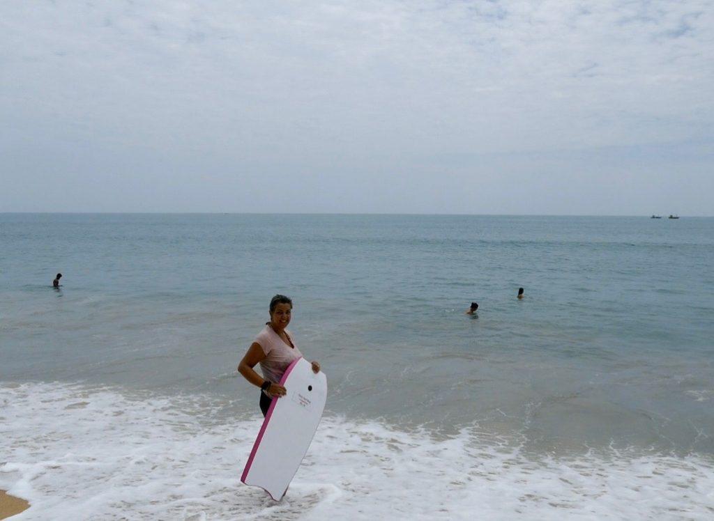 Boogie board @ Arugam Bay
