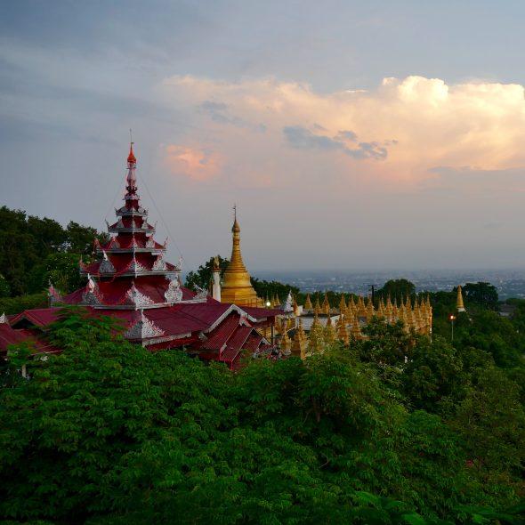 Myanmar, Mandalay Hills