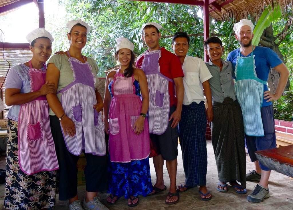 Myanmar, a cooking class in Mandalay