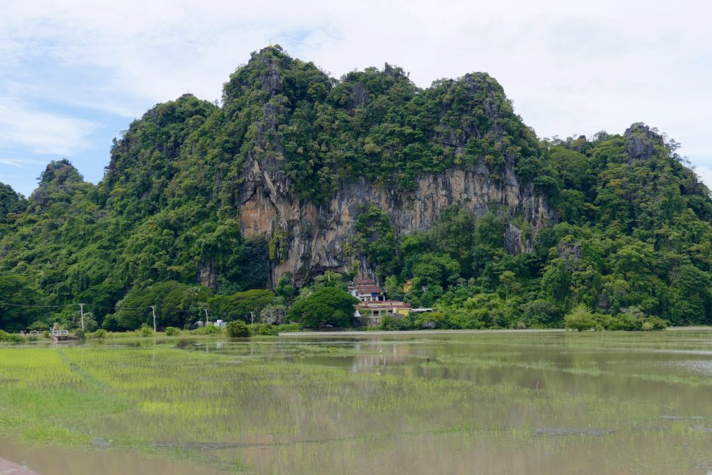 Myanmar, the Saddan cave in Hpa An