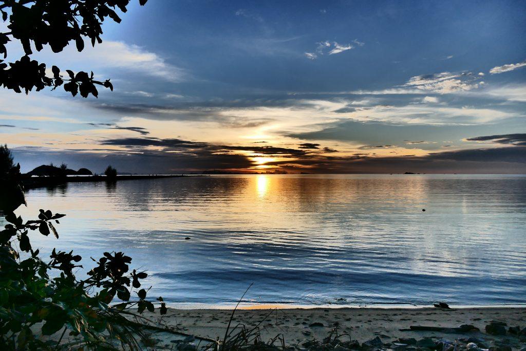 Ko Phangan, la baie de Hin Kong