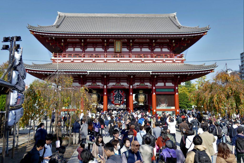 Tokyo, le temple Senso-Ji