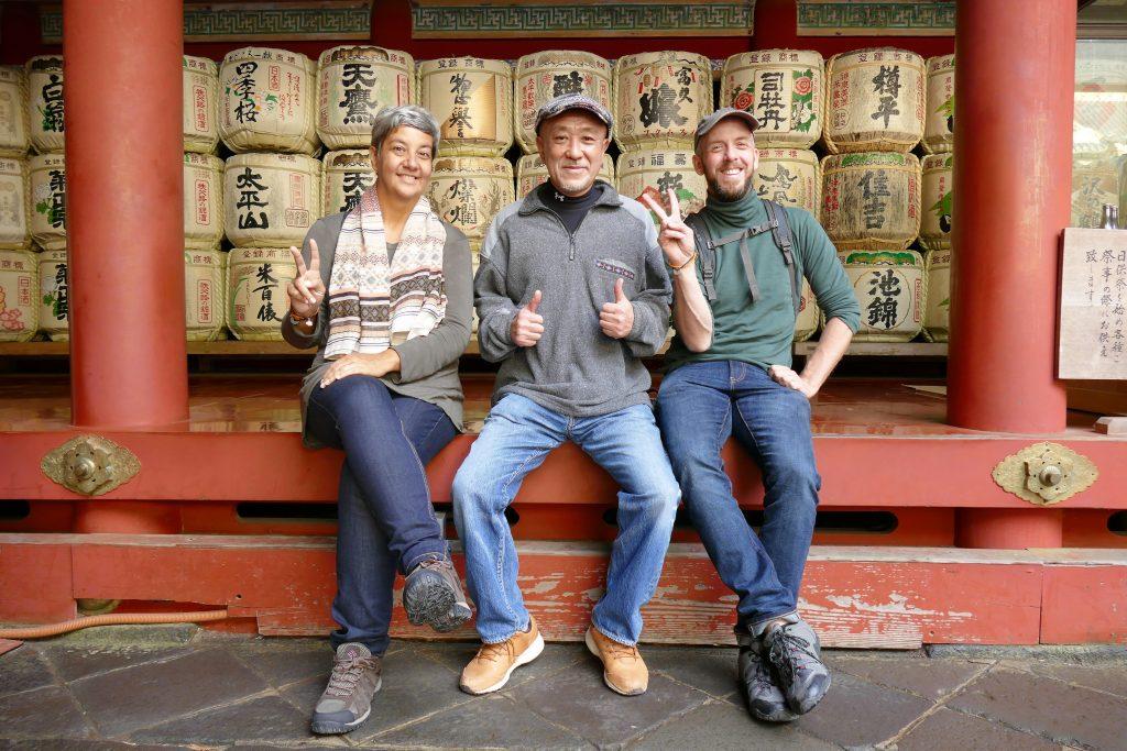 Japan, Eiji, Magali & Daniel @ Nikkō Tōshō-gū