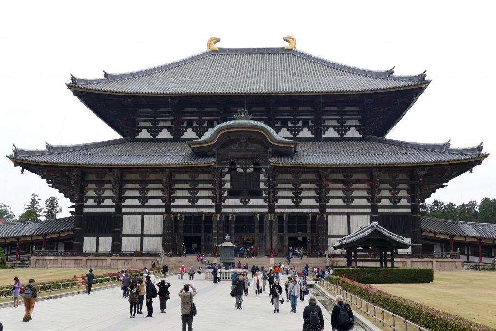 Japon, le temple Todai-Ji à Nara