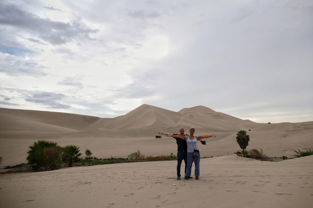 Peru, the dunes @ Huacachina