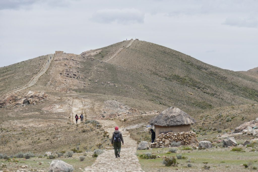 Bolivia, hiking from North to South @ Isla del Sol