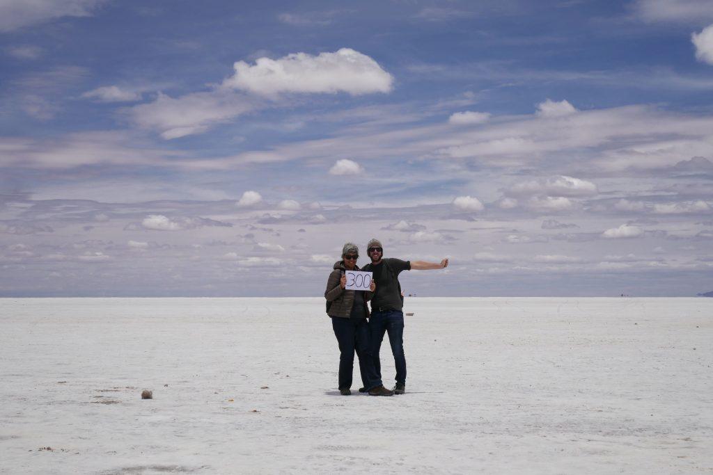 Bolivie, 300 jours sur la route @ Uyuni