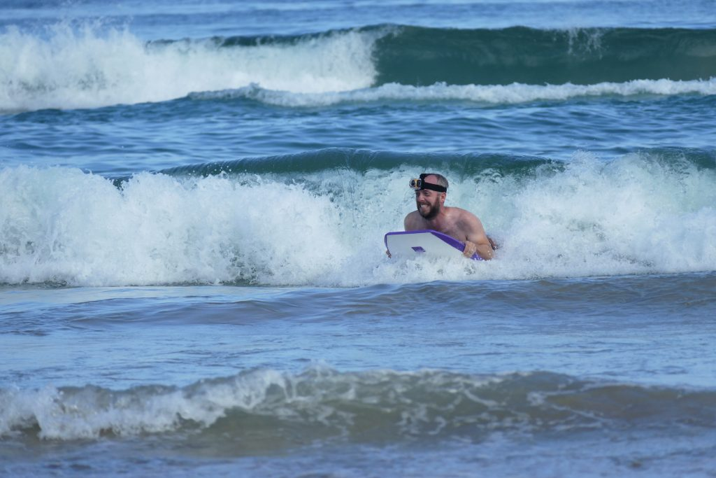 Australia, body boarding in NSW