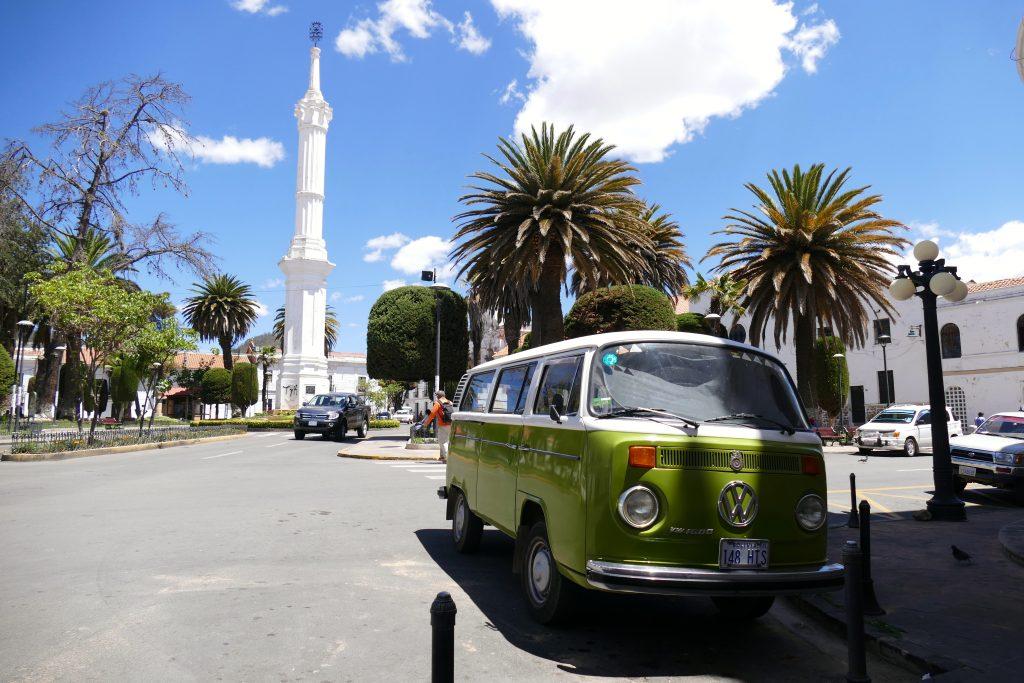 Bolivia, Plaza Libertad @ Sucre