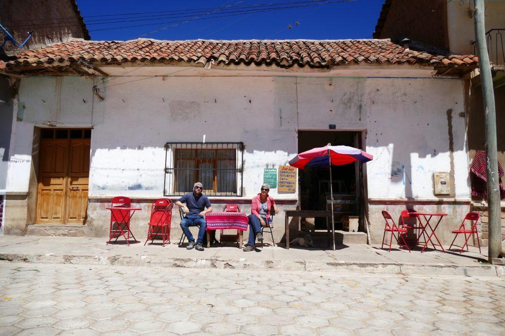 Bolivia, coffee in the sun @ Tarabuco