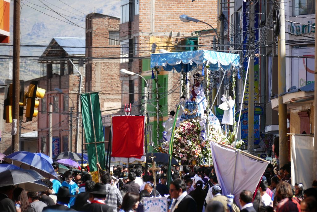 Pérou, la procession de la Candelaria @ Puno