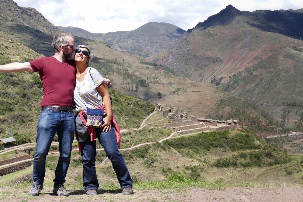 Peru, ruins @ Pisac