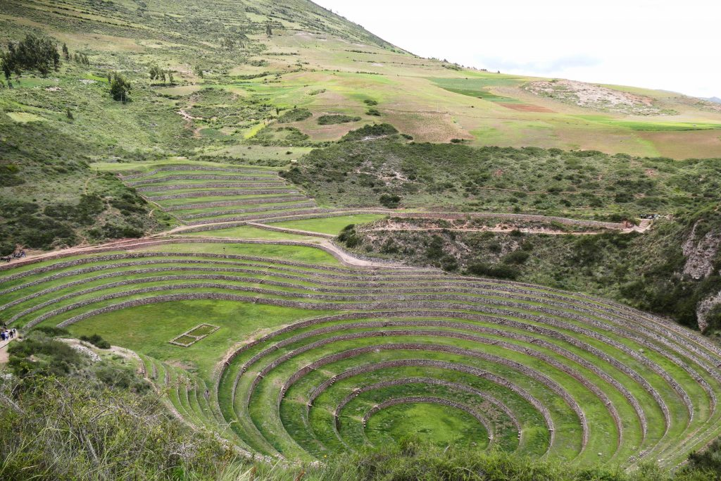 Peru, the terraces @ Moray