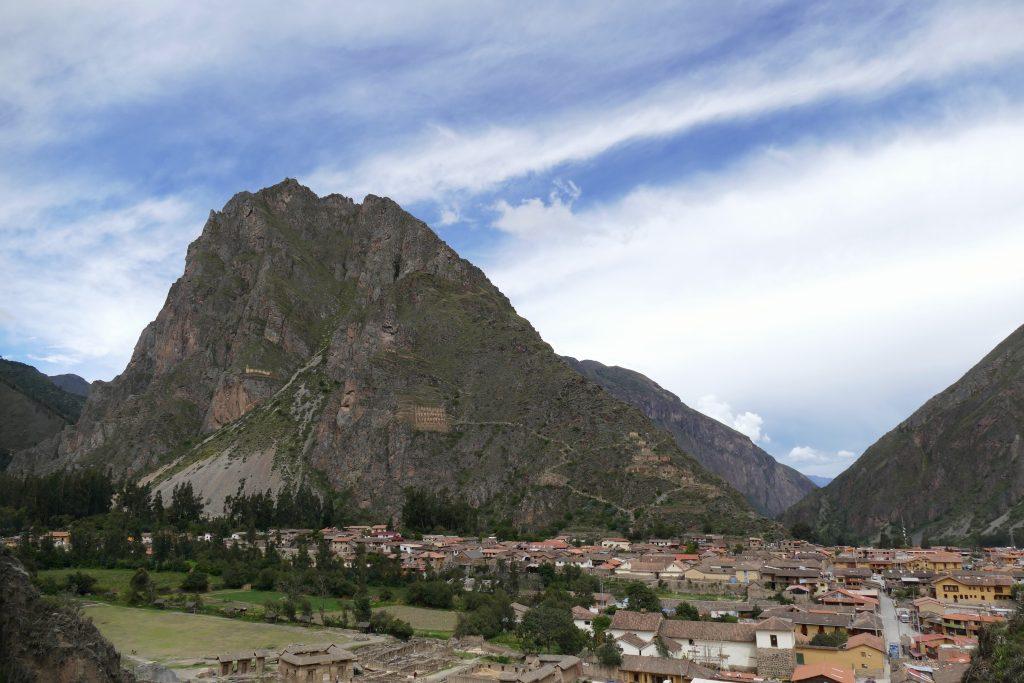 Peru, view @ Ollantaytambo