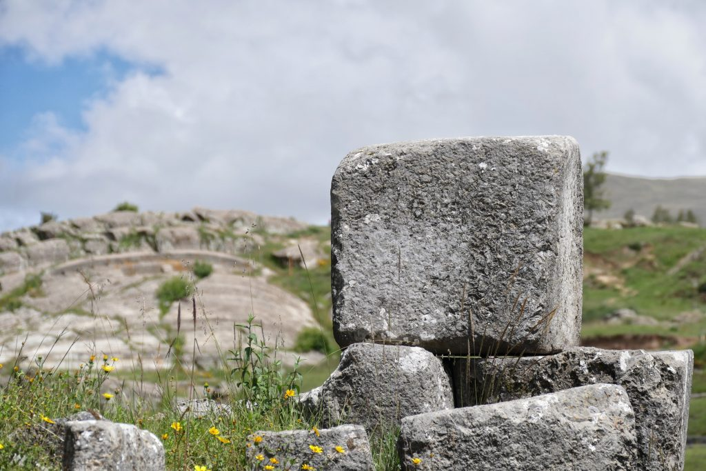 Peru, ruins @ Sacsayhuaman