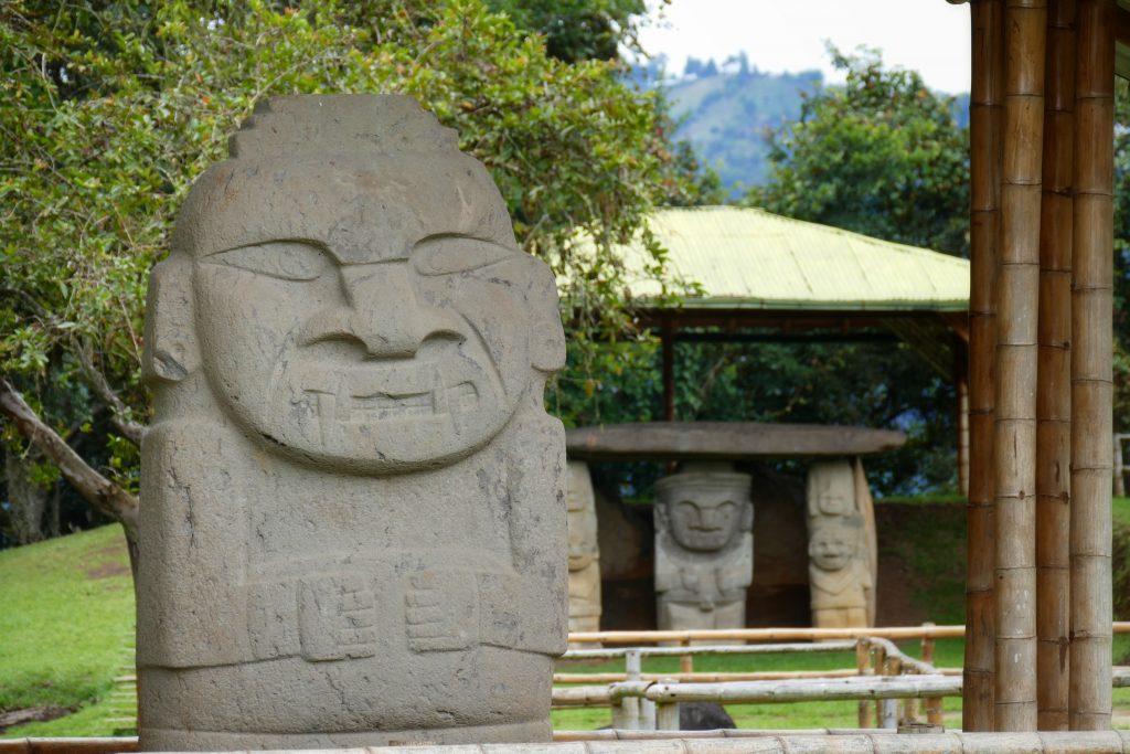 Colombie, Parque Archeologico @ San Agustin